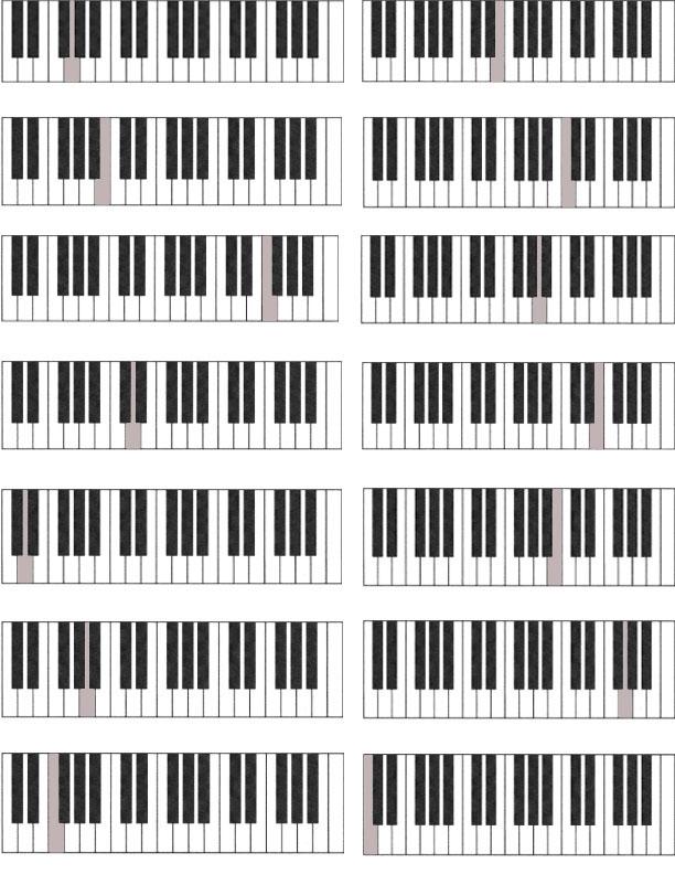 Rebecca Czubinu0026#39;s Music Studio - Worksheets and Flash Cards
